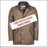 Barbour Wimbrel Olive Tweed Wool Jacket