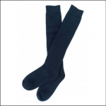 Barbour Wellington Knee Length Socks Navy 1