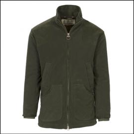 Barbour Dunmoor Fleece Jacket Olive 1