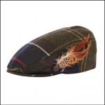 Barbour Ladies Tartan Wool Flat Cap