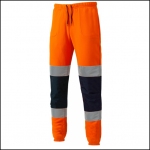 Dickies High Visibility Orange Two Tone Work Joggers