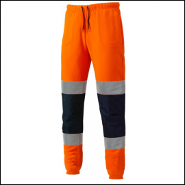 Dickies High Visibility Orange Two Tone Work Joggers 1