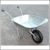 Haemmerlin Handibarrow 90L Galvanised Boxed Wheelbarrow Pnuematic 3
