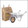 Haemmerlin Handibarrow 90L Galvanised Boxed Wheelbarrow Puncture Free 2