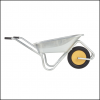 Haemmerlin Handibarrow 90L Galvanised Boxed Wheelbarrow Puncture Free 3
