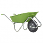 Haemmerlin Handibarrow 90L Lime Green Boxed Wheelbarrow Pnuematic 1