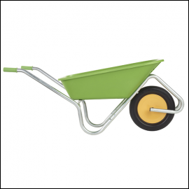 Haemmerlin Handibarrow 90L Lime Green Boxed Wheelbarrow Puncture Free 1