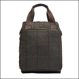 Joules Green Tweed Picnic Rucksack 1