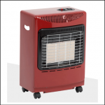 Lifestyle Mini Red Heatforce Gas Cabinet Heater 4.2kW 1