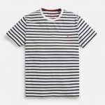 Joules Boathouse Cream-Navy Stripe T-Shirt