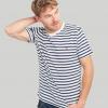 Joules Boathouse Tee Cream-Navy Stripe T-Shirt 2