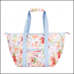 Joules Insulated Picnic Carrier Bag White Floral 1