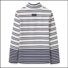 Joules Saunton Cream Navy Stripe Sweatshirt 2