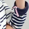 Joules Saunton Cream Navy Stripe Sweatshirt 3