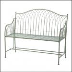 Ascalon Hampton Garden Bench Seat Sage 1