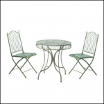 Ascalon Hampton Bistro (3pc) Garden Set Sage 1