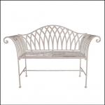 Ascalon Kings Garden Bench Seat Cream 1
