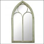 Ascalon Large Chapel Window Garden Mirror 1