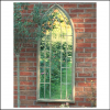 Ascalon Large Gothic Arches Garden Window Mirror 2