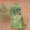 Ascalon Large Gothic Stone Garden Window Mirror 2
