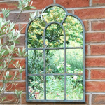 Ascalon Arch Garden Window Mirror 1