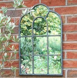 Ascalon Arch Garden Window Mirror 1