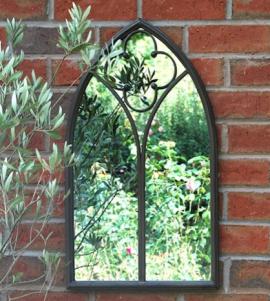 Ascalon Small Chapel Window Garden Mirror 2