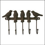 Ascalon Wall Mounted Song Bird Hooks 1