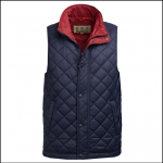 Barbour Ampleforth Navy Gilet 1