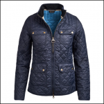 Barbour Bowfell Ladies Navy Quilt Jacket 1