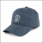 Barbour Nautical Navy Washed Cap 1