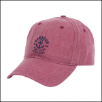 Barbour Nautical Ruby Washed Cap 1