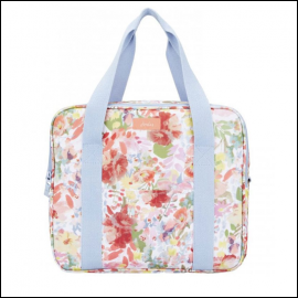 Joules Insulated Picnic Cool Bag White Floral 1
