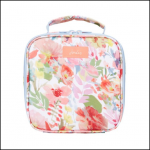 Joules Insulated Picnic Lunch Bag White Floral 1