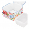 Joules Insulated Picnic Lunch Bag White Floral 2