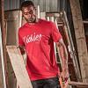 Dickies 22 Hanston Slim Fit T-Shirt Red 2