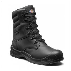 Dickies Trenton Waterproof Pro Black Safety Boot 1
