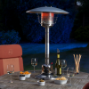 Lifestyle Sirocco Stainless Steel Tabletop Patio Heater 4kW 2
