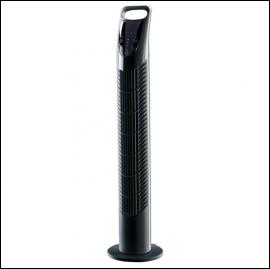 Draper 09125 Black Tower Fan (775mm)