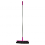 Harold Moore Stable & Yard Broom Magenta 1