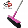 Harold Moore Stable & Yard Broom Magenta 2