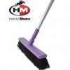 Harold Moore Stable & Yard Broom Purple 2
