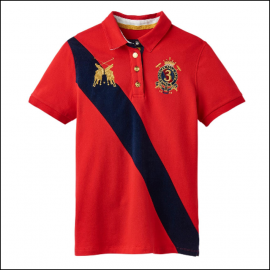 Joules Claredon Chilli Pepper Polo Shirt 1