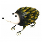 Rolson Hedgehog Garden Ornament