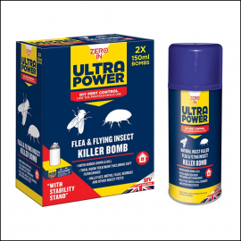 Zero In Natural One-Shot Flea & Flying Insect Killer Bomb