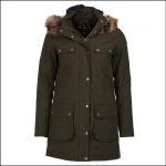 Barbour Collingwood Ladies Waterproof Jacket Olive 1