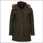 Barbour Collingwood Ladies Waterproof Jacket Olive 1