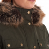 Barbour Collingwood Ladies Waterproof Jacket Olive 3