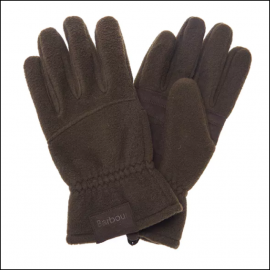 Barbour Fleece Country Gloves Olive