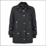 Barbour Icons Ladies Beaufort Wax Jacket Sage 1